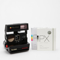 Urban Outfitters - Vintage Polaroid 600 Camera Kit by Impossible Project