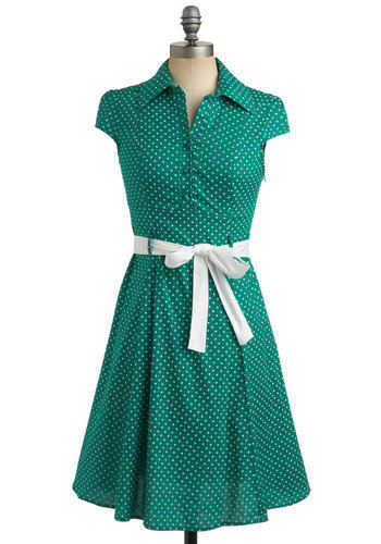 Hepcat Dress in Clover | Mod Retro Vintage Dresses | ModCloth.com