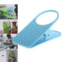 Creative Table Side Cup Holder Beverage Keeper for Shool Office Home?Blue? China Wholesale - Everbuying.com