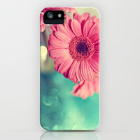 Pink Gerbera Daisy iPhone Case by Amelia Kay Photography | Society6