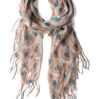 ModCloth Boho All Eyes on Me Scarf
