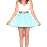 Spring Fling dress in mint  | Show Pony Fashion online shopping