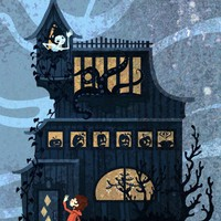 Haunted House by theGorgonist on Etsy