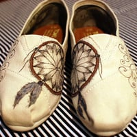 Dream Catcher TOMS by CoraRountree on Etsy