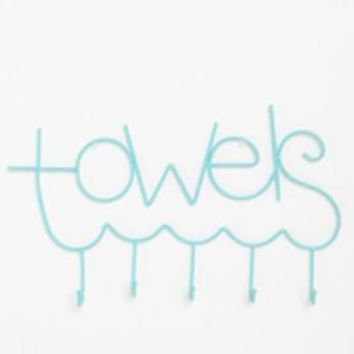 UrbanOutfitters.com > A Place For Towels Hook
