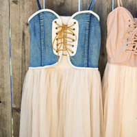Not Your Ordinary Tutu Dress (Denim)