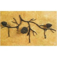 Amazon.com: Pinecone decor towel rack WALL HOOK key coat Pine Cone: Home & Garden
