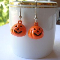 Pumpkin Fun Mini Earrings
