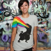 &quot;Technicolour Rex&quot; - Threadless.com - Best t-shirts in the world
