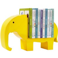 DwellStudio |  BOOKSHELF ELEPHANT LEMON; $124
