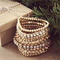 Sparkle & Shine Party Bracelet , Women's Affordable Accessories