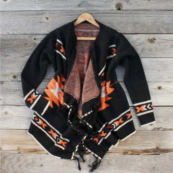 Toboggan Fringe Sweater, Sweet Country Women's Clothing