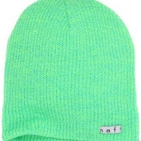 neff Men's Daily Heather Beanie, Tennis/Cyan, One Size