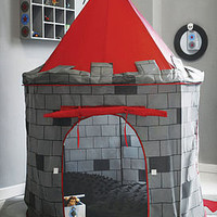 knight castle play tent by mini-u | notonthehighstreet.com