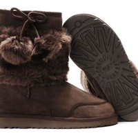 UGG 5899 Classic Short Boots Chocolate Outlet UK