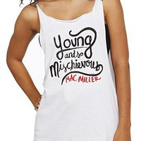 Mac Miller Young Cut-Off Tank Top - 147048