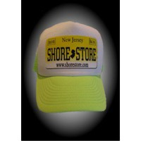 Jersey Shore Merchandise - Shore Store License Plate Hat-Yellow Decal