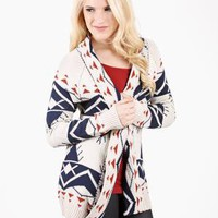 Mountain Dwelling Aztec Print Sweater @ FrockCandy.com