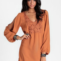 Autumn Embers Shift Dress - $42.00 : ThreadSence, Women's Indie & Bohemian Clothing, Dresses, & Accessories
