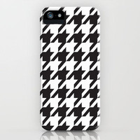 Houndstooth Pattern iPhone Case by Rex Lambo | Society6