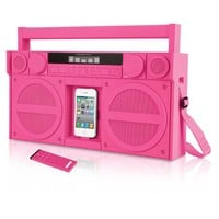 iHome iP4 Portable FM Stereo Boombox for iPhone and iPod—Buy Now!
