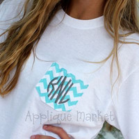 Monogrammed Pocket Long Sleeve Tee by SewBellaSew on Etsy