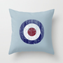 Vintage Mod Target Throw Pillow by Rex Lambo | Society6