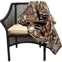 Amazon.com: Mossy Oak Breakup Polar Fleece Throw: Sports & Outdoors