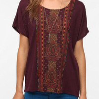 Urban Outfitters - Title Unknown Amari Stripe Tee