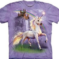 Amazon.com: The Mountain T-Shirt Unicorn Castle Tee: Clothing