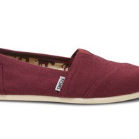 Wine Canvas Women's Classics | TOMS.com