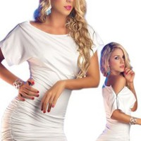 Amazon.com: Little White Dress - Sexy Retro Style: Clothing