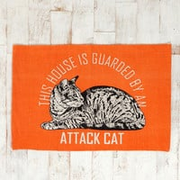 Urban Outfitters - Attack Cat Rug