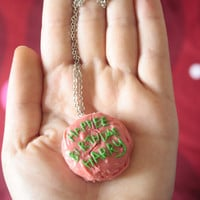 Happee Birthdae Harry - Hagrid&#x27;s cake Necklace