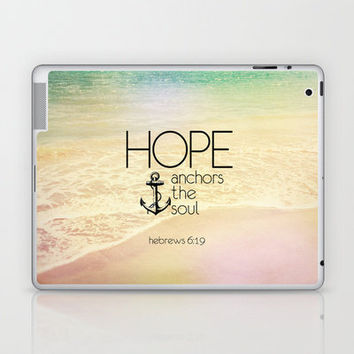 Hebrews 6:19 Laptop & iPad Skin by Pocket Fuel | Society6