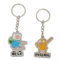 Adventure Time Finn And Jake Best Friends Key Chain Set - 113788