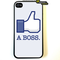 Iphone 4 Case Like A Boss Geek Funny iPhone 4 Case