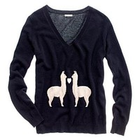 Women&#x27;s THE GIVE WELL GUIDE - modern tomboy - Llama Love Sweater - Madewell