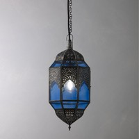 Buy John Lewis Zafina Ceiling Lantern, Lapis online at JohnLewis.com - John Lewis