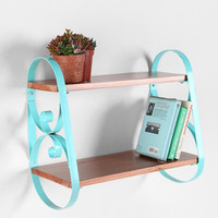 Urban Outfitters - Scroll Wood Wall Shelf