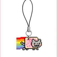 Hey Chickadee - Nyan Cat phone charm