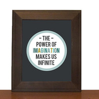 Imagination Print - 8x10 Print - John Muir Quote