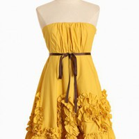 esperanza rising ruffle dress at ShopRuche.com, Vintage Inspired Clothing, Affordable Clothes, Eco friendly Fashion