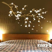 Wall Decal Wall Sticker tree decal  Cherry Blossom by KinkyWall