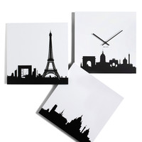 Paris je Time Wall Clock | Mod Retro Vintage Wall Decor | ModCloth.com