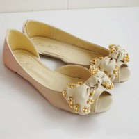 Sweety Bowknot Chain Encircle Sandal For Women China Wholesale - Everbuying.com