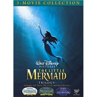 Amazon.com: The Little Mermaid Trilogy (The Little Mermaid/The Little Mermaid II: Return to the Sea/The Little Mermaid: Ariel's Beginning): Jodi Benson: Movies & TV
