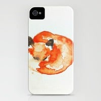 fox iPhone Case by Carrie Booth | Society6