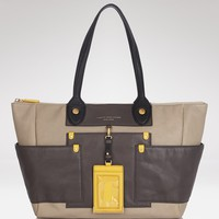 MARC BY MARC JACOBS Tote - Preppy Leather Colorblocked | Bloomingdale's
