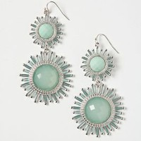 Aquamarine Pinwheel Drops - Anthropologie.com